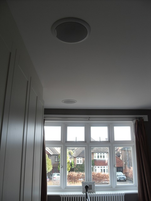 Flush Bose Ceiling Speaker for Bedroom