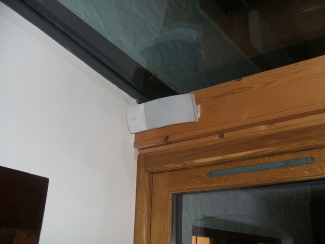 Wall Speaker for 2nd Room installed for a Private Home