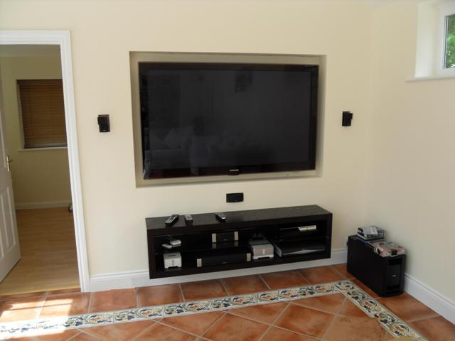 Bose Lifestyle® home entertainment system retro fitted
