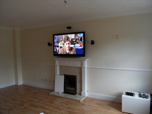 Bose Lifestyle® home entertainment system completed