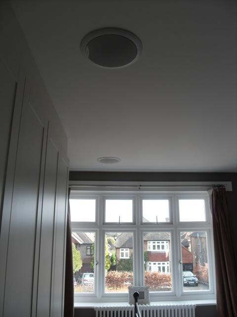 Flush Bose Ceiling Speaker for Bedroom