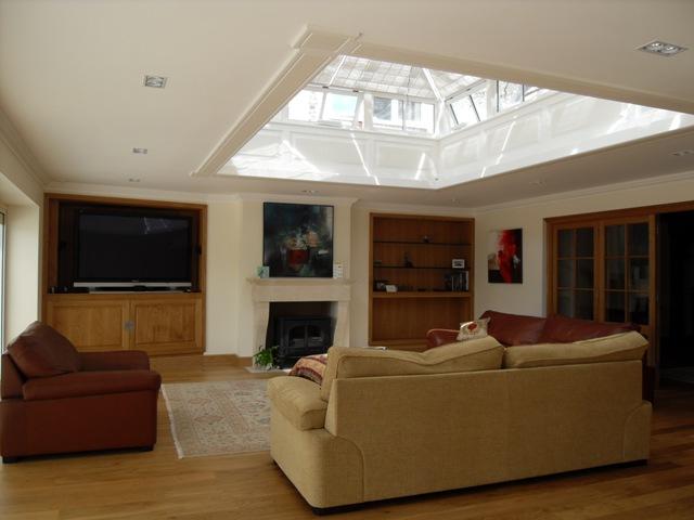 Bose Lifestyle® home entertainment system hidden