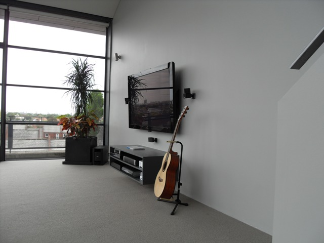 Bose Lifestyle® home entertainment system fitted in penthouse