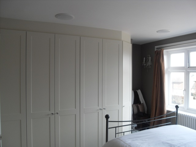 Bose Ceiling Speakers for a Bedroom